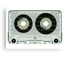 Audio tape cassette Canvas Print