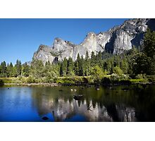 Merced River and Yosemite National Park Photographic Print