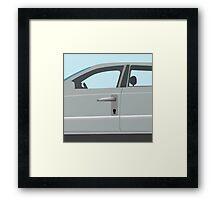Auto locker Framed Print