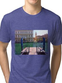 Rowing on the Grand Canal Tri-blend T-Shirt