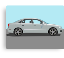 Automobile vector Canvas Print