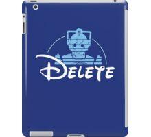Delete iPad Case/Skin
