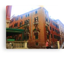 Venetian House Canvas Print