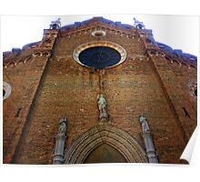 Towering Cathedral Poster