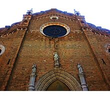 Towering Cathedral Photographic Print