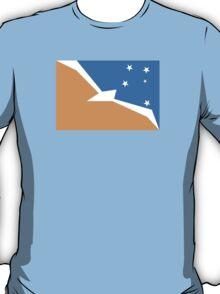 Flag of Tierra del Fuego Province T-Shirt