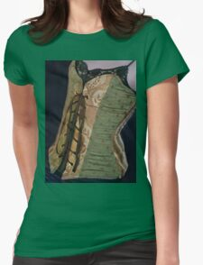 Corset Girl 4 Womens Fitted T-Shirt