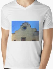 Cathedral without Facade Mens V-Neck T-Shirt