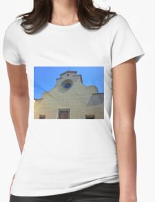 Cathedral without Facade Womens Fitted T-Shirt