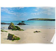 Port of Ness beach, Isle of Lewis Poster