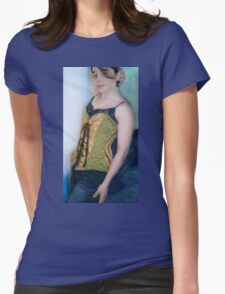 Corset Girl 3 Womens Fitted T-Shirt