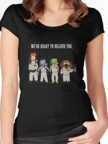 We're Ready to Believe You Women's Fitted Scoop T-Shirt