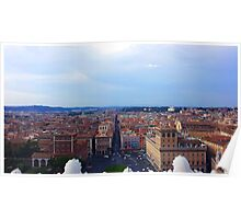 Roman Skyline Poster