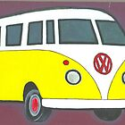 VW  peace bus  by RootRock