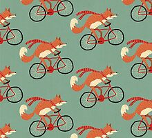 fox pattern by Tess Smith-Roberts