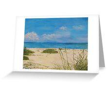 Lido Beach Sarasota Greeting Card
