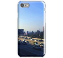 Rush Hour in Los Angeles iPhone Case/Skin