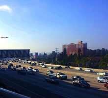 Rush Hour in Los Angeles by thetutor