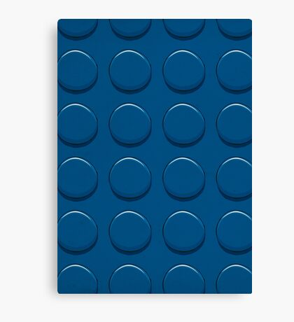 Lego Blue Canvas Print