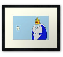 Ice King and Gunter Framed Print
