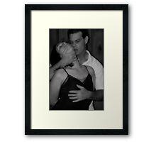 Loves Embrace Framed Print