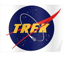 NASA Star Trek Logo Parody Poster