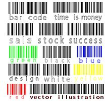 Bar codes Photographic Print