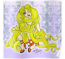 Rapunzel Let Down your Golden Hair Poster
