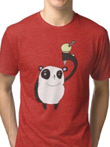 ice cool panda Tri-blend T-Shirt