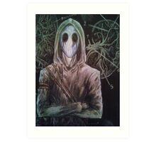 Eyeless Jack Creepypasta Art Print