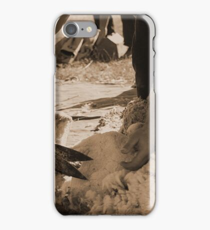 Click go the Hand Shears 3 iPhone Case/Skin