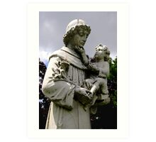 St. Joseph Catholic Cemetery - 3 Art Print