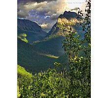High Country - Glacier National Park Photographic Print