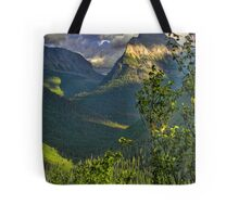 High Country - Glacier National Park Tote Bag