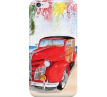 1939 Pontiac Woody:  On San Onofre State Beach (Trestles)  iPhone Case/Skin
