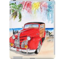 1939 Pontiac Woody:  On San Onofre State Beach (Trestles)  iPad Case/Skin