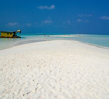 Kuredu, Maldives. View to the Indian Ocean. by iLaw