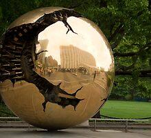 United Nations Golden Globe by Martin Knott