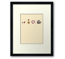 Wizard Of Oz (may contain spoilers) Framed Print