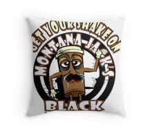 Montana Jack's Black Get Your Shake On Throw Pillow