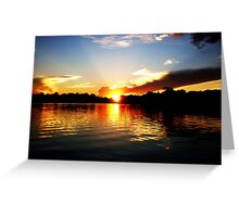 At Day's End Greeting Card