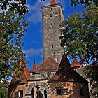 Rothenburg  - Burgtor #1 2009 by David J Dionne