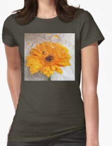 yellow flora  T-Shirt