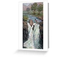 Flow Greeting Card