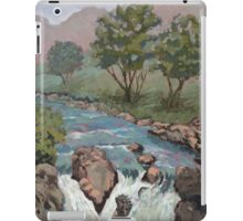 Waterfall in the Scottish Highlands near Glencoe iPad Case/Skin
