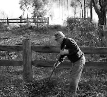Clearing Away Weeds by Eve Parry
