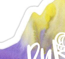 JMU Dukes Watercolor State  Sticker
