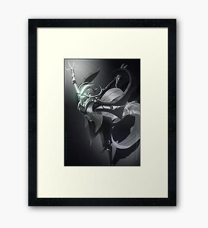 HRC-03: Pria Alyevic Framed Print