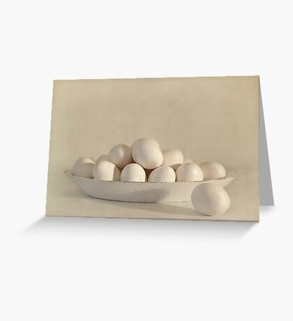 Eggs Greeting Card