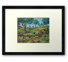Good Pasture Poor Land for Farming Framed Print